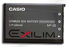 Casio NP-20