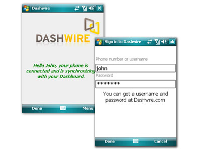 DashWire Pocket Pc