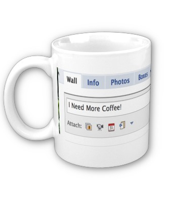 Facebook i need more coffee