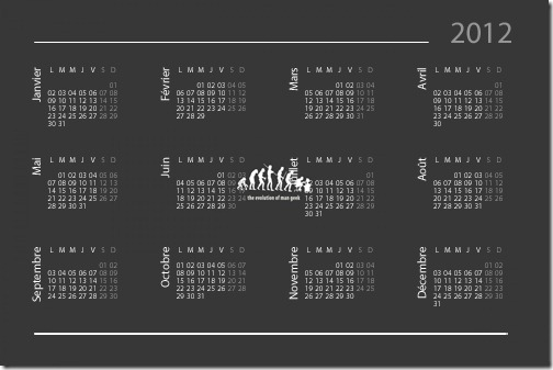 Calendar - 2012
