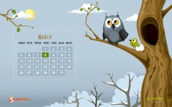 Spring and owl 97