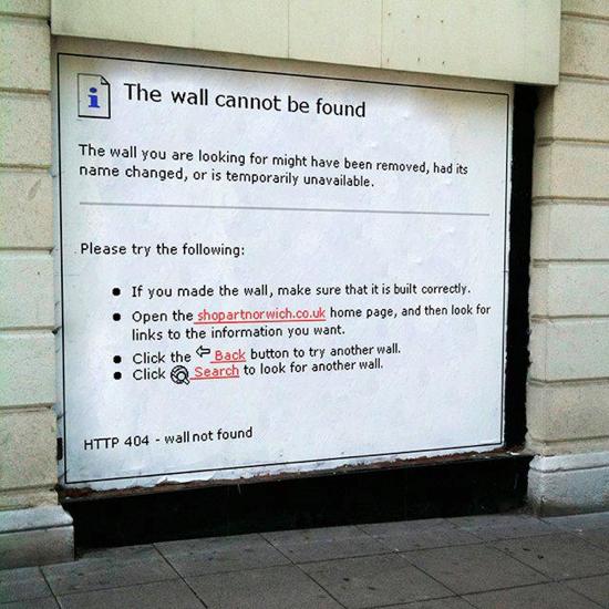 Wall 404