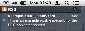 RSS.app notification center