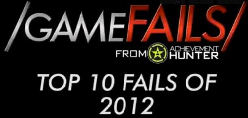 Top 10 Fail Jeux Videos