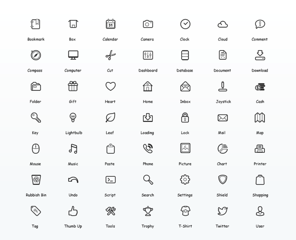 Icon Vector Set