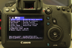 Magic Lantern Canon EOS