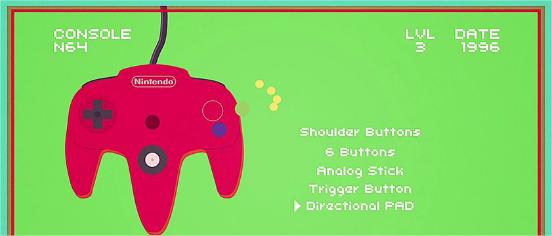 Evolution manettes Nintendo